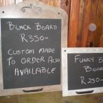 Funky Black Boards